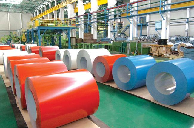 Sản phẩm tôn mạ màu nhập khẩu được miễn trừ áp thuế tự vệ